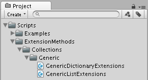 ExtensionMethodFileStructure